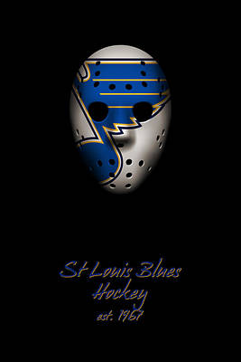 Photograph - St Louis Blues Established by Joe Hamilton
