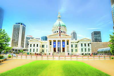 Photograph - St. Louis Capital by Spencer McDonald