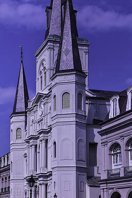 St Louis Square Photograph - St. Louis Cathedral 2 by Garry Gay
