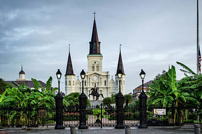 Photograph - St. Louis Cathedral by Chrystal Mimbs