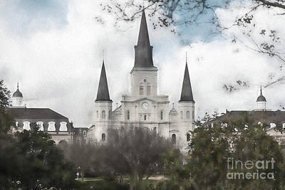 Photograph - St. Louis Cathedral by Pam  Holdsworth