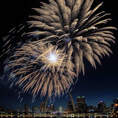 Photograph - St Louis Celebration by Susan Rissi Tregoning