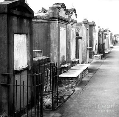 New Orleans Cemeteries Photograph - St Louis Cemetery by Baltzgar