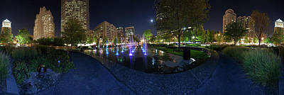 Photograph - St.  Louis City Garden 370deg by David Coblitz