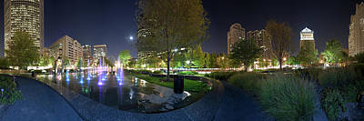 Photograph - St. Louis City Garden Panorama by David Coblitz