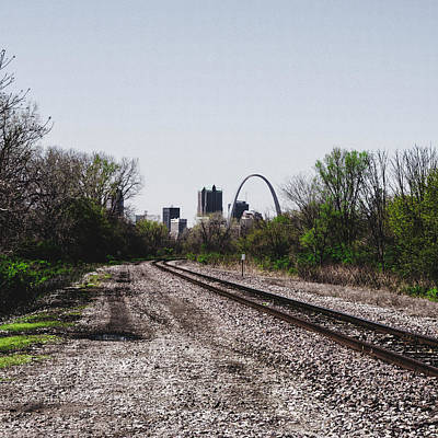 Photograph - St. Louis From The East Side by Dylan Murphy