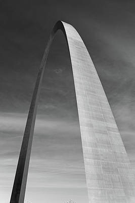 Photograph - St Louis Gateway Arch Study 2 by Robert Meyers-Lussier