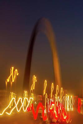 Jefferson National Expansion Memorial Photograph - St Louis Heartbeat by Garry McMichael