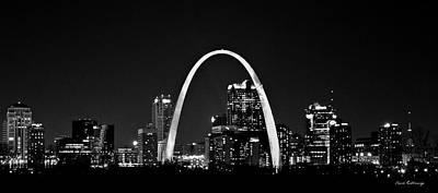 Photograph - St Louis Missouri Gateway Arch Art by Reid Callaway