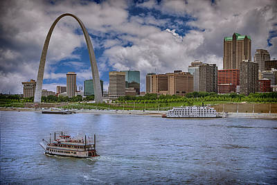 Photograph - St Louis Missouri River Front 7r2_dsc9364_06182017-hdr1569 by Greg Kluempers