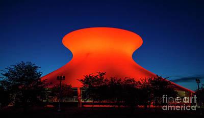 Photograph - St Louis Planetarium by Garry McMichael