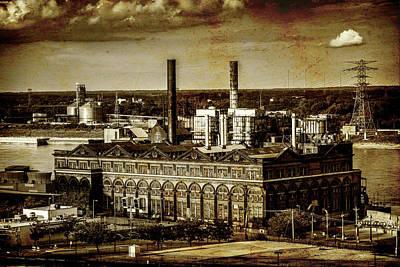 Photograph - St Louis Powerhouse Laclede Landing-7r2_dsc0036_16-08-18 by Greg Kluempers