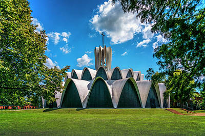 Photograph - St Louis Priory Abbey Church 7r2_dsc0843_16-09-06 by Greg Kluempers