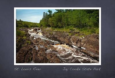 Photograph - St Louis River Poster 2 by Heidi Hermes