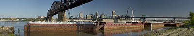 Photograph - St Louis Riverfront by Garry McMichael