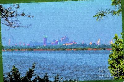 Photograph - St. Louis Skyline by John Freidenberg