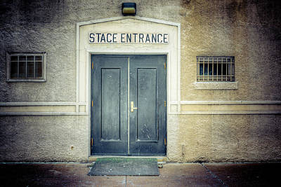 Photograph - St. Louis Stage Entrance by Spencer McDonald
