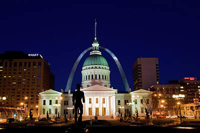 Art Print featuring the photograph St. Louis by Steve Stuller