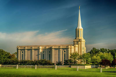 Photograph - St Louis Temple Of Latter-day Saints 7r2_dsc0878_16-09-06 by Greg Kluempers