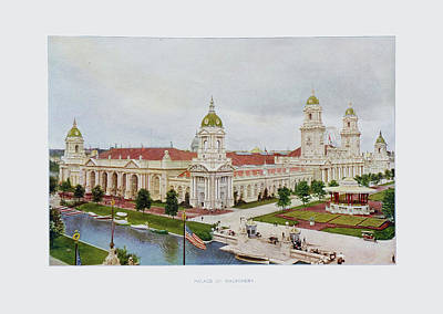 St. Louis World's Fair Palace Of Machinery Original by Irek Szelag