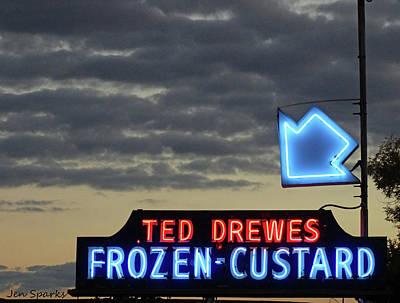 Photograph - St. Louis's Best Custard by Jen Sparks