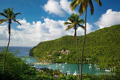 Photograph - St Lucia - Marigot Bay by Brian Jannsen
