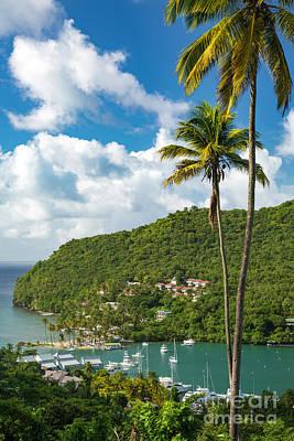 Photograph - St Lucia - Marigot Bay II by Brian Jannsen