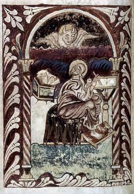 Evangelical Painting - St. Luke by Granger