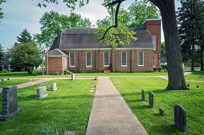 Photograph - St Luke's Episcopal Church - Church Hill Md by Brian Wallace