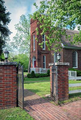Photograph - St Luke's Episcopal Church - Entrance by Brian Wallace
