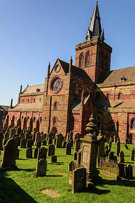 Photograph - St Magnus Cathedral Exterior by Elvis Vaughn