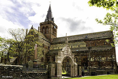 Photograph - St. Magnus Cathedral by Fran Gallogly
