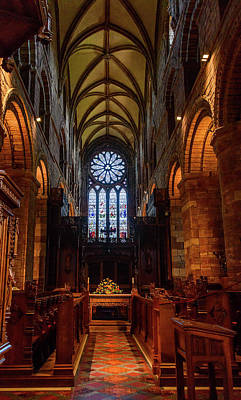 Photograph - St Magnus Interior by Elvis Vaughn