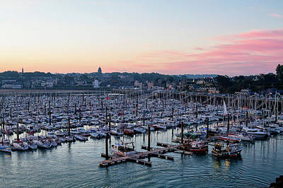 Photograph - St Malo Harbour  by Shirley Mitchell