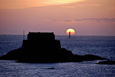 Photograph - St Malo Sunset by Eric Tressler