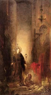St Margaret Digital Art - St Margaret by Gustave Moreau