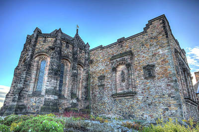 Photograph - St Margaret's Chapel Edinburgh by David Pyatt