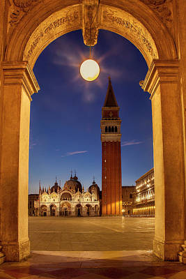 Photograph - St. Mark's At Twilight by Andrew Soundarajan