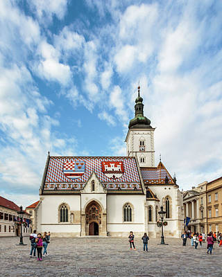 Photograph - St. Mark's Church by Michael Niessen
