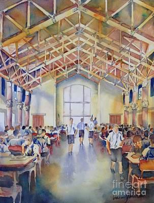 Painting - St. Marks Great Hall by Liana Yarckin