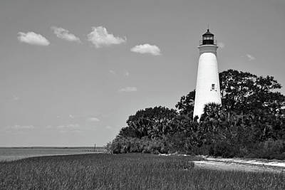 Photograph - St Marks Lighthouse by Ben Prepelka