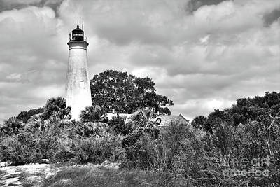Photograph - St Marks Lighthouse by Janice Spivey