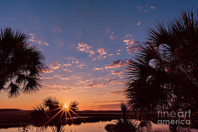 Photograph - St. Marks National Wildlife Refuge Sunrise by Bill And Deb Hayes