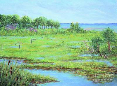 Painting - St. Marks Refuge I - Summer by Gail Kent