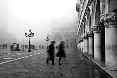 St Mark's Square Art Print by Marion Galt