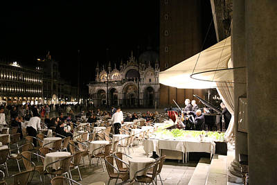 Photograph - St. Marks Square Venice 2 by Andrew Fare