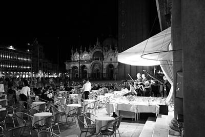 Photograph - St. Marks Square Venice 2b by Andrew Fare