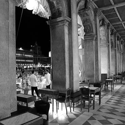Photograph - St. Marks Square Venice 3b by Andrew Fare