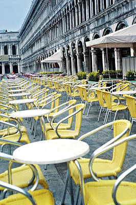Photograph - St Mark's Square, Venice by Jean Gill