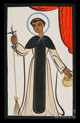 Painting - St. Martin De Porres - Aompr by Br Arturo Olivas OFS